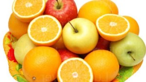 профилактика простуды народными средствами, витамины в фруктах