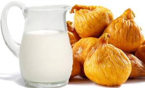 инжир с молоком от кашля рецепт приготовления