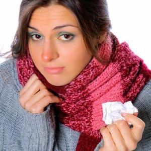 пропадает обоняние при насморке и болит переносица
