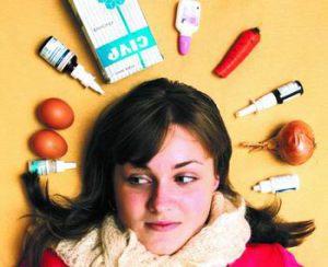 народные способы лечения насморка: лук, алоэ, свекла