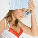 сбить температуру уксусом ребенку