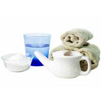 Как приготовить солевой раствор и как промывать нос соленой водой.