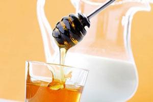 народный рецепт молока с медом от кашля