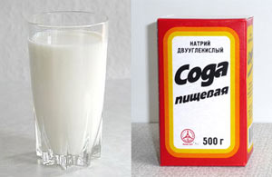Простые рецепты молока с содой от кашля