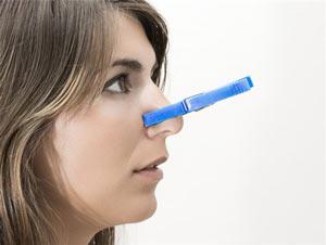 Что делать, если заложен нос