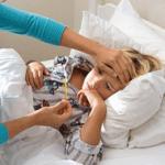 на фото температура у ребенка