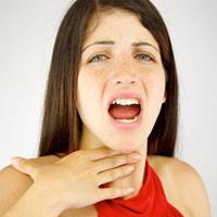 Сухость в горле, как симптом заболевания